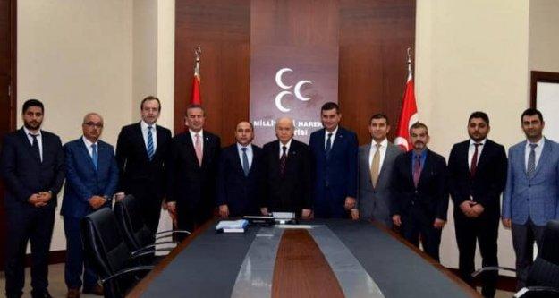 Türkdoğan, Bahçeli'yi ziyaret etti