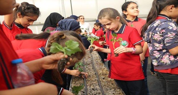 Yeşeren çocuklar' projesi 45 çocukla start aldı