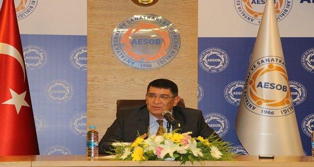 """AESOB Başkanı Dere: 'Vergi indirimleri için doğru zaman"""""""