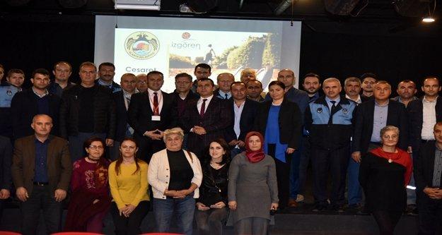 Alanya Belediyesi'nden 'Cesaret Yönetimi' semineri