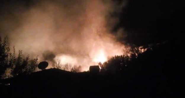 Alanya#039;da gece yangın kabusu
