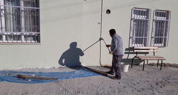 Alanya'da ibadethane ve okullara bakım onarım