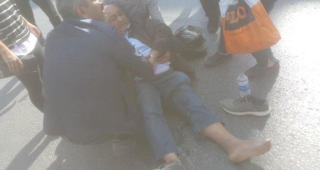 Alanya#039;da Oğuz Korum trafik kazası geçirdi
