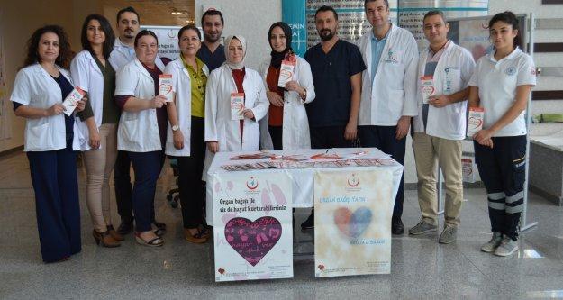 Alanya'da organ bağışına yoğun ilgi