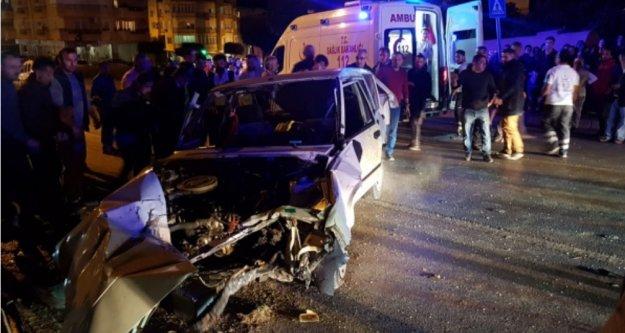 Alanya'da zincirleme kaza: 4 yaralı var