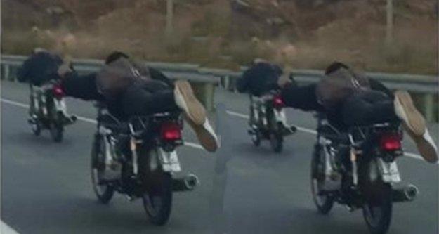 Alanya- Gazipaşa yolunda 'pes' dedirten görüntü