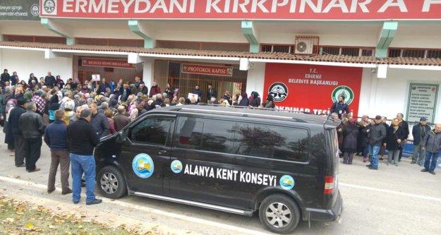 Alanya Kent Konseyi Edirne ve Çanakkale'de