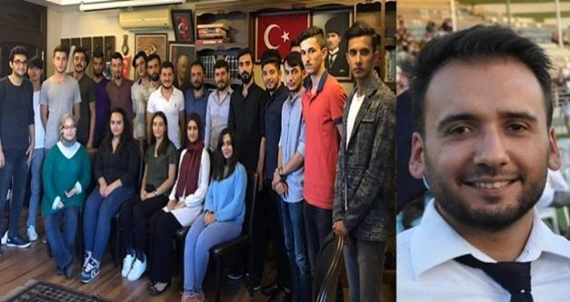 Alanya Türk Ocağı Gençlik Kollarında görev değişimi