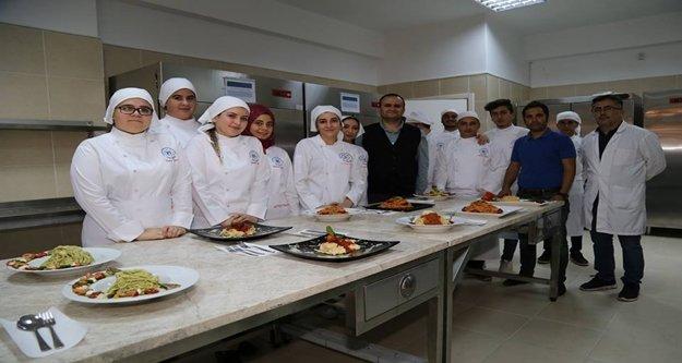 ALKÜ'nün Gastronomi Mutfağı hizmete girdi