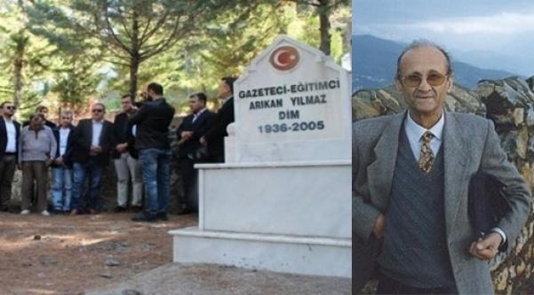 'Arıkan Hoca' mezarı başında dualarla anıldı