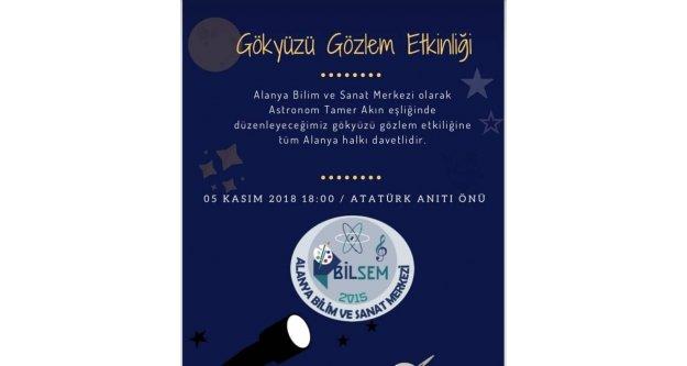 BİLSEM'den Gökyüzü Şenliği'ne davet