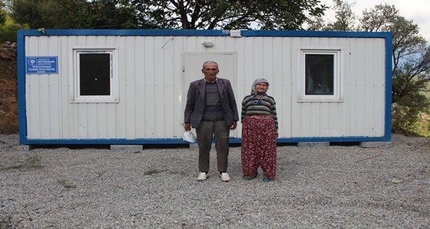 Büyükşehir'den Gazipaşalı çifte konteynır ev