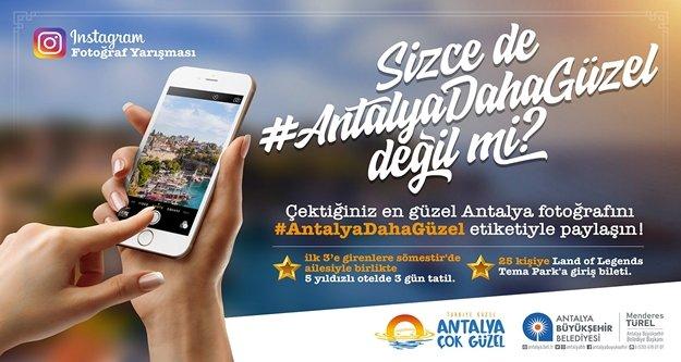 Büyükşehir'den ödüllü Instagram yarışması