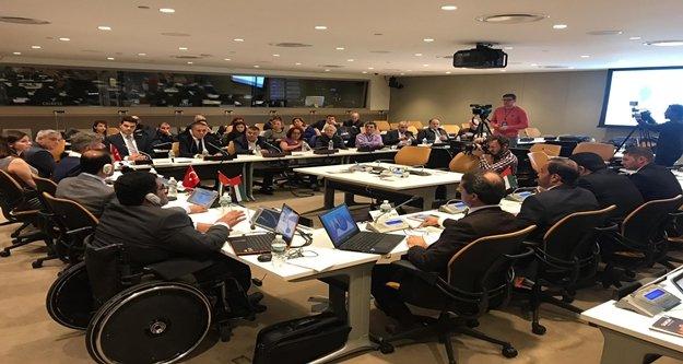 Engelsiz Kent Alanya, Birleşmiş Milletler Merkezi'nde tanıtıldı