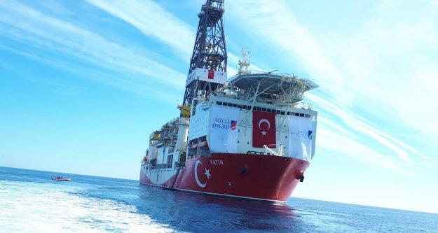 Fatih Gemisi Alanya-1 kuyusunda ilk sondajına başladı