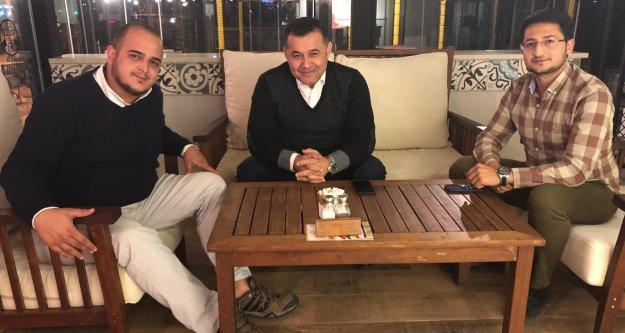 Guzyaka başkan Yücel'le buluştu