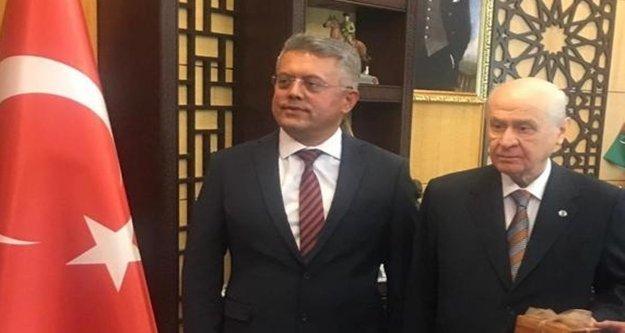 Jandarma eski komutanı MHP'den Büyükşehir aday adayı
