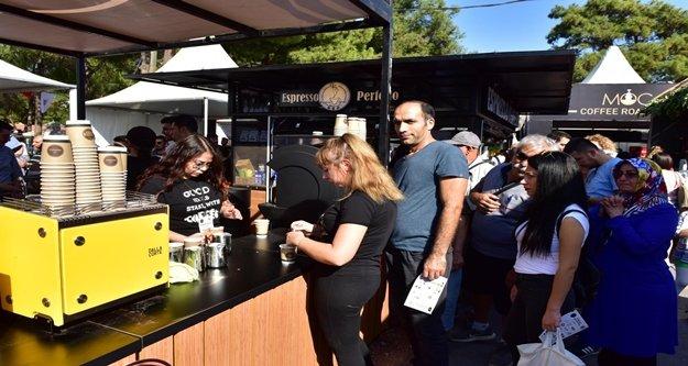 Kahve festivaline rekor ziyaretçi