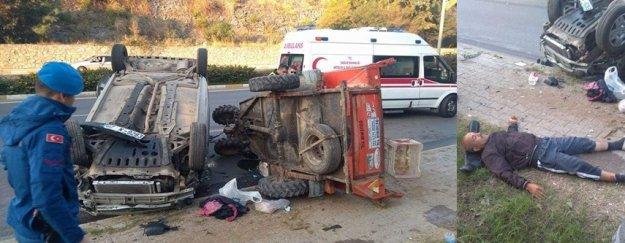 Alanya'da korkunç kaza