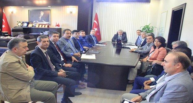 Manavgat'ta Bağımlılıkla Mücadele toplantısı