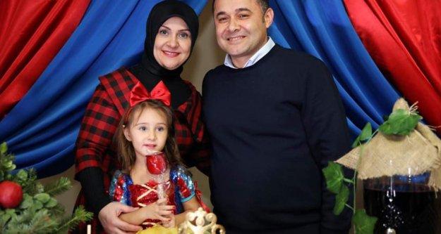 Minik Zeynep'in 3. yaş mutluluğu