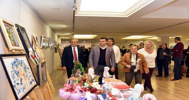 40 milleti buluşturan sergi açıldı