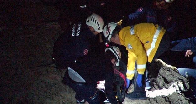 30 metre yüksekten düşen genç hayatını kaybetti