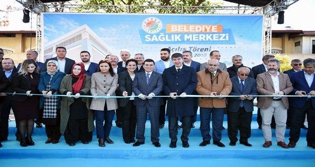 5 yıldızlı sağlık merkezi açıldı
