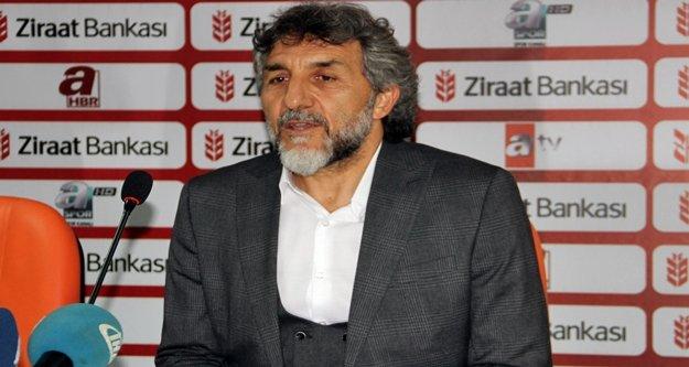 """Adnan Erkan : 'Hiç istemediğimiz bir skor oldu"""""""