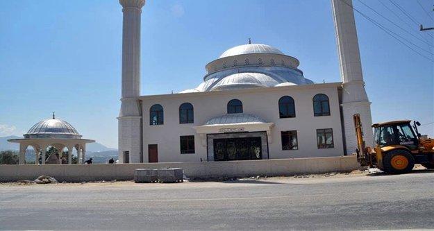 Alanya Belediyesi'nin cami projeleri devam ediyor