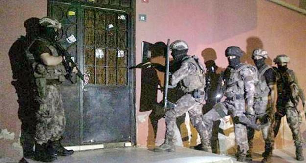 Alanya'da aranan  22 şüpheli şafak operasyonuyla  yakalandı