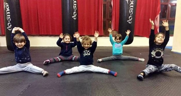 Alanya'da çocuklar için jimnastik, yetişkinler için pilates kursu