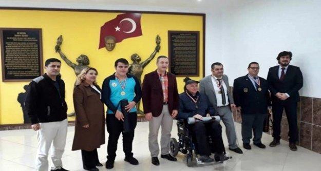 Alanya'daki satranç turnuvasında ödüller verildi