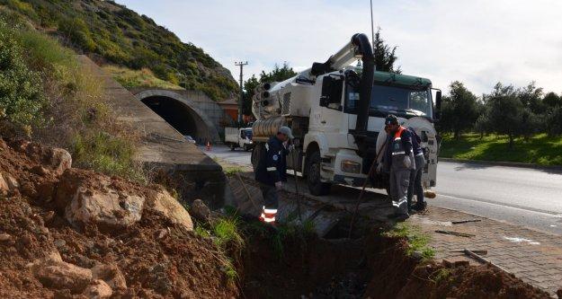 Alanya'daki tünellerde hummalı çalışma