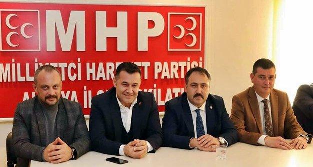 Alanya MHP'den akşam zirvesi