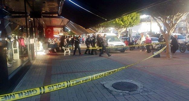 Alanya'da çıkan silahlı kavgada biri kadın 2 kişi yaralandı
