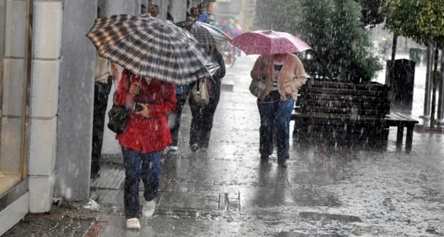 Alanya'ya şiddetli yağış uyarısı