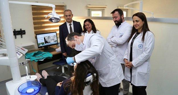 ALKÜ Diş Hekimliği Fakültesi hasta kabulüne başladı