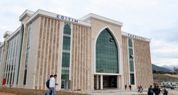 ALKÜ Eğitim Fakültesi binası hizmete girdi