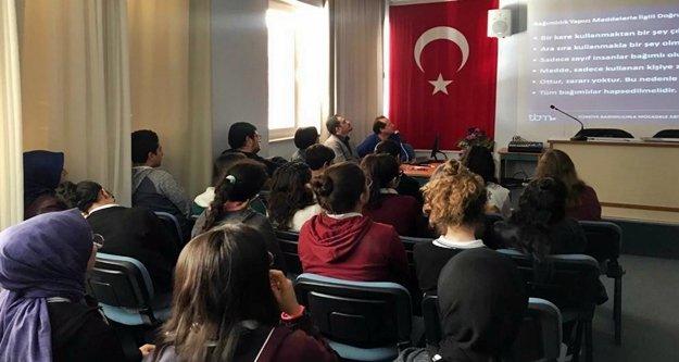ALKÜ'den madde bağımlığı semineri