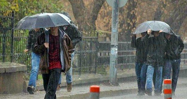Antalya'nın batı ilçelerine kuvvetli yağış uyarısı