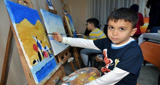 ASMEK'ten öğrencilere özel yağlı boya kursu