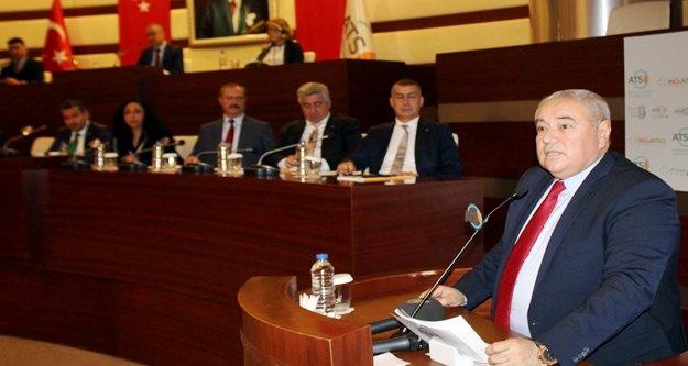 ATSO Başkanı Çetin '2019 yılı turizminde yeni bir zirve yapabiliriz'