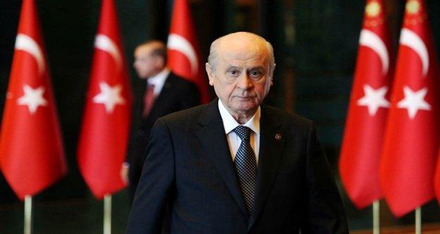 """Bahçeli 'Cumhur İttifakı Türkiye'yi kurtaracak"""""""