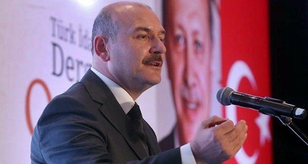 """Bakan Soylu : 'Uyuşturucu tacirlerine zamanın en büyük yakalaması gerçekleştirildi"""""""