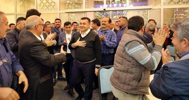 Başkan Yücel, Demirtaş halkına teşekkür etti