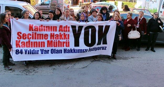 Büyükşehirde 'Kadın aday' gösterilmemesi tepkiye yol açtı