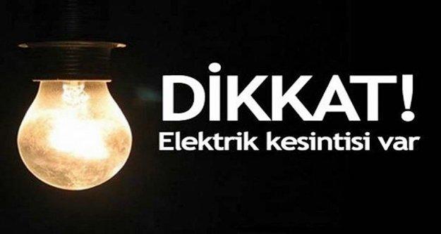 Dikkat! Bugün için Alanya'da elektrik kesintisi