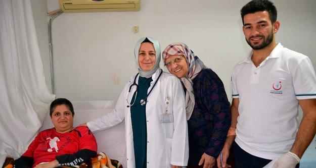 Hastane yönetiminden nazik ziyaret