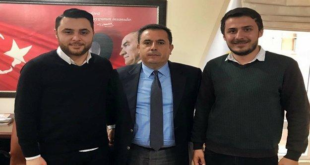 Kardeş Yücel ve Çınar'dan Şoförler Odasına ziyaret